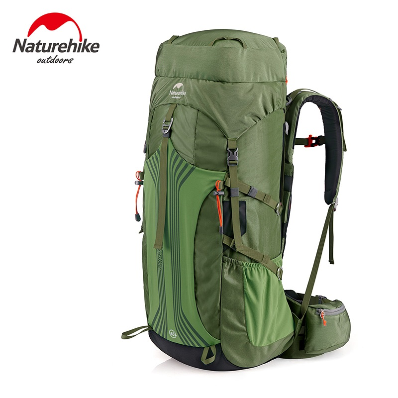 Naturehike 55L 65L Professional Mountain bag lager Capacity trekking backpack for Outdoor Camping Hiking Climbing