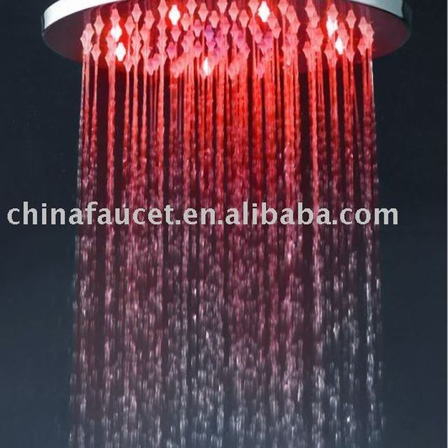 Beautiful Led Light Shower Head (led Raining Shower Head,overhead Shower Head)