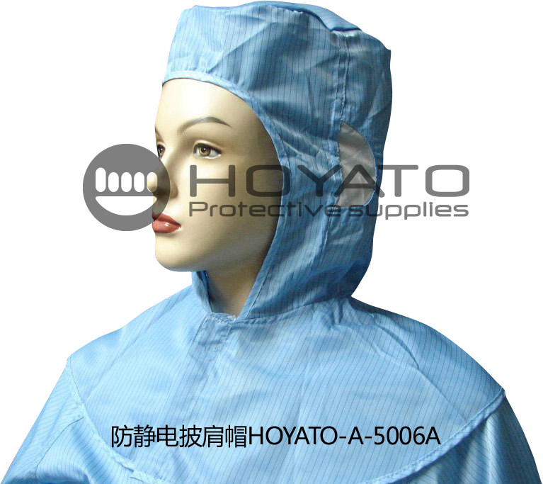 Wholesale HOYATO high quality cheap customized accept cleanroom antistatic ESD Shawl Hat