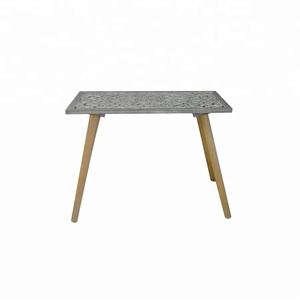 Modern Furniture mdf solid wood coffee table old wooden table
