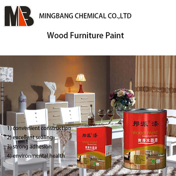 PU Matt Finish Wood Furniture Polish Paint