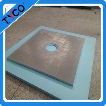 Diy Waterproofing Walk In Shower Base Thermal Insulation ...