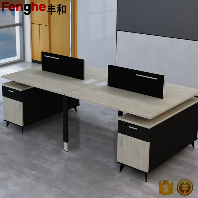 Executive wooden office desk of office furniture