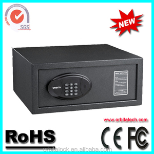 Orbita Push Button fireproof two key safe box for Seucrity and Protection