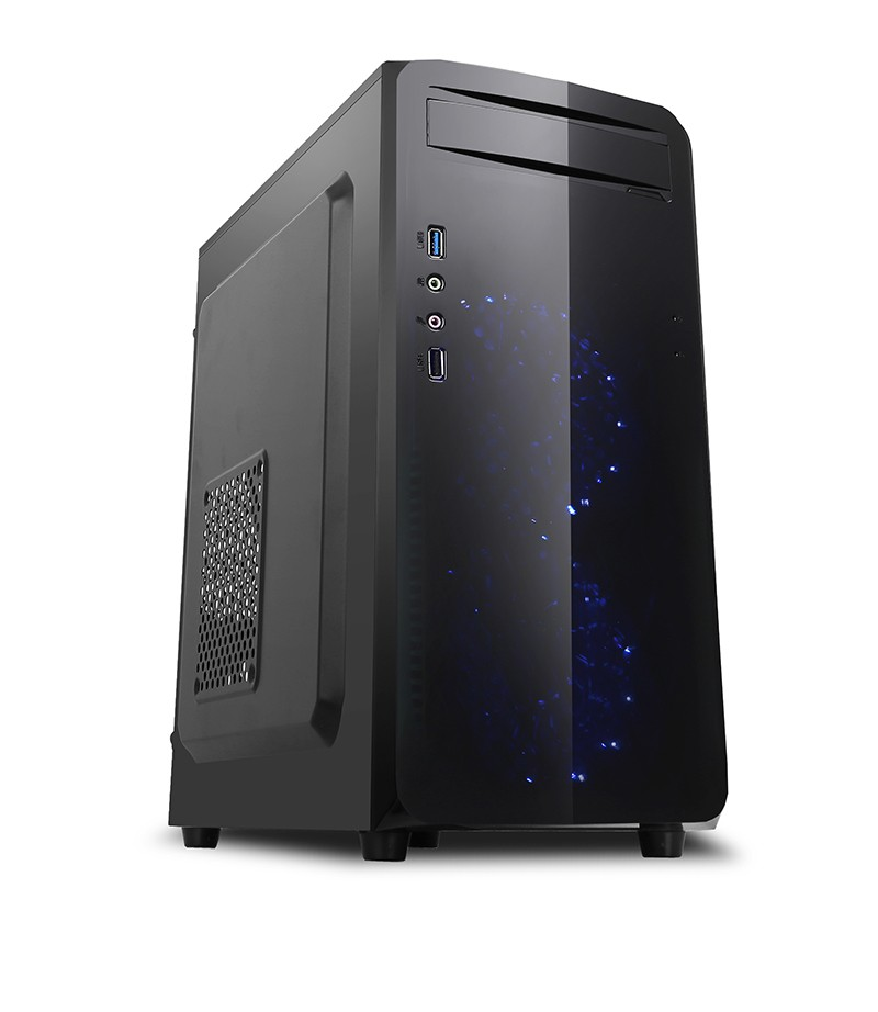 Computer Case Micro Computer Case,Micro Cabinets With Front Double Cooling  Fan ,Case With