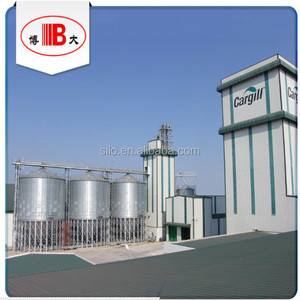 BODA 3000t grain steel silo project in Honduras for Cargill feed mill