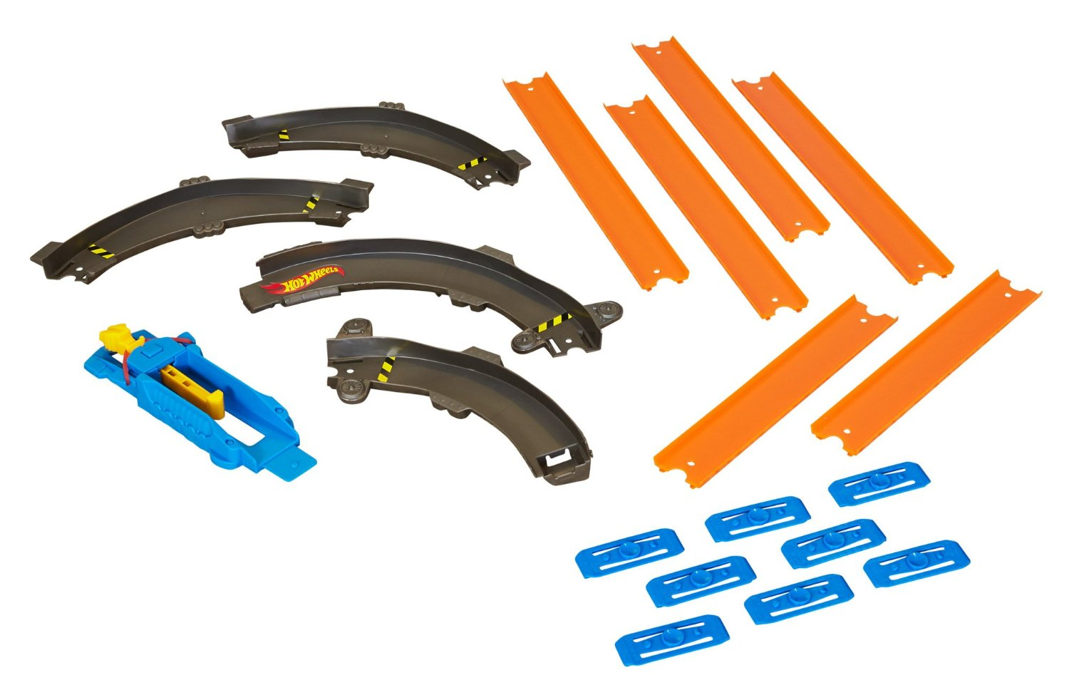 Hot Wheels BLM20 Track Builder Essentials Curve Pack