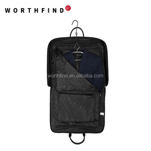 Zippered Canvas Garment Bag Wholesale Pocket Small Suit Carrier