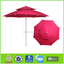 Famous Brand Adjustable Outdoor Polyester umbrella garden