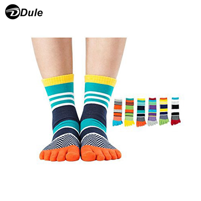DL-I-1080 5 toe sock cotton five toe socks five finger socks