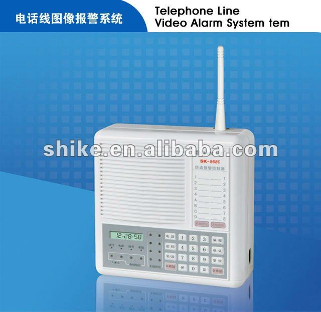 Wired Burglar Alarms Panel, Wired Burglar Alarms Panel Suppliers and ...