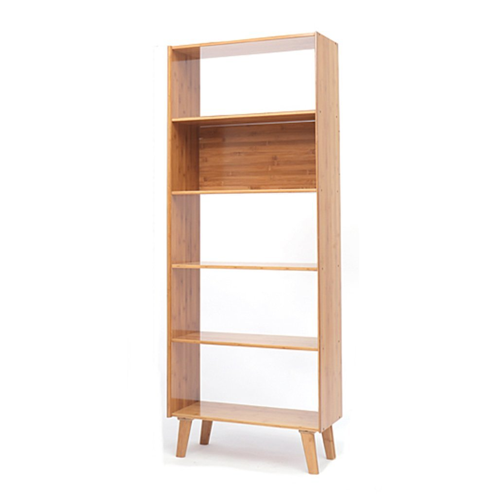 LQQGXL Storage and organization Solid Wood Simple Floor Cabinet Simple Modern Combination Storage Shelf Japanese Bookcase Personality Shelf (Color : 5 layers)