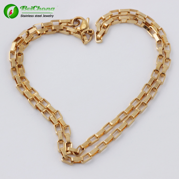 Hot sale gold necklace vibrator designs in 10 grams chain necklace ...