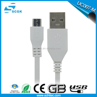 2015 SCGK real 1A double sided usb cable for mobile phone