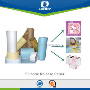 Color printed Silicon Release Paper for panty liner and sanitary napkin