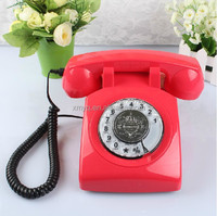Home Decorative Classic Phone Vintage Chinese Cordless Telephones