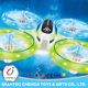 Super racing flying remote control wholesale propel rc ufo with light