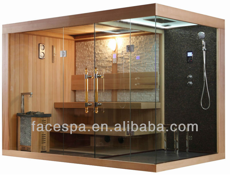 Amazing Sauna Shower Combination Traditional Dry Steam Saunas   Buy Steam Sauna, Sauna Suit,Sauna And Steam Combined Room Product On Alibaba.com