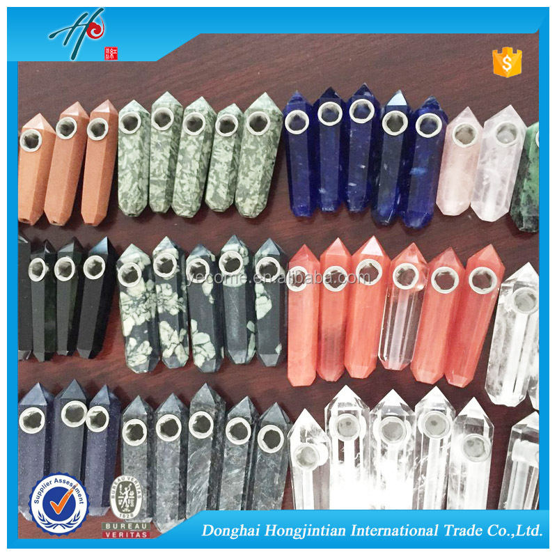 wholesale weed quartz crystal custom smoking pipes