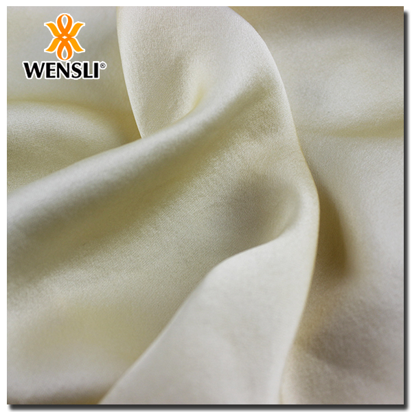 High Qulity Customized Pure Tussah Silk Satin Fabric Supplier