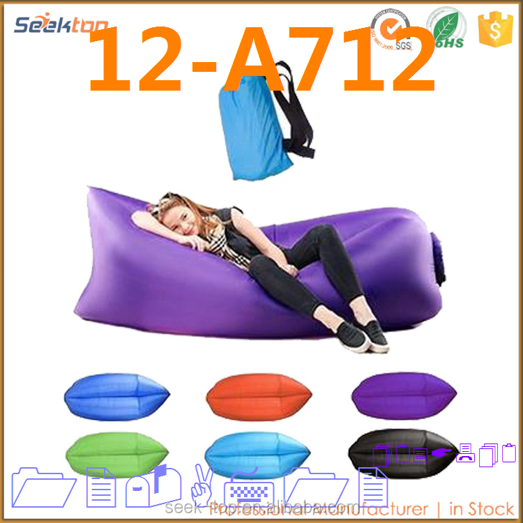 China Market Emergency One Mouth Sofa Outdoor Air Sleeping Bag