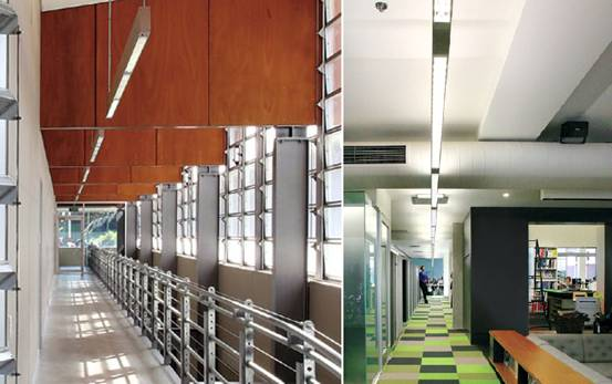 linear suspended lighting.  linear sll15b aluminium profile up and down led suspension linear lighting for  office inside linear suspended lighting t