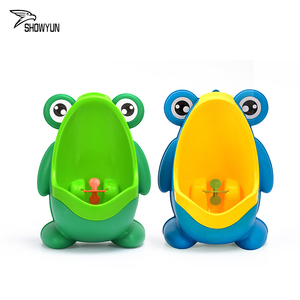 Baby Boy Cute Wall Movable Plastic Bear Potty Toilet Training Stand Urinal Potty Children Urinal Baby potty