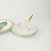 Ceramic Jewelry Ring Organizer Holder Collect Dish Display Trinket Tray