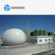 Biogas plant complete set equipments to generate electricity