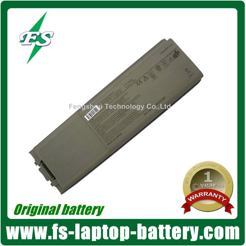 Hot 7200mAh 9 Cells Original Laptop Battery For Dell D800 M60 8500 8600 Series