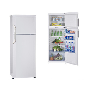 170L used double door refrigerator with handle
