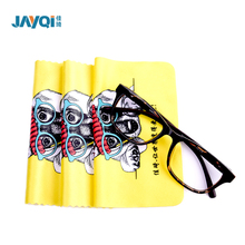 custom printing 100% polyester microfiber glasses cleaner