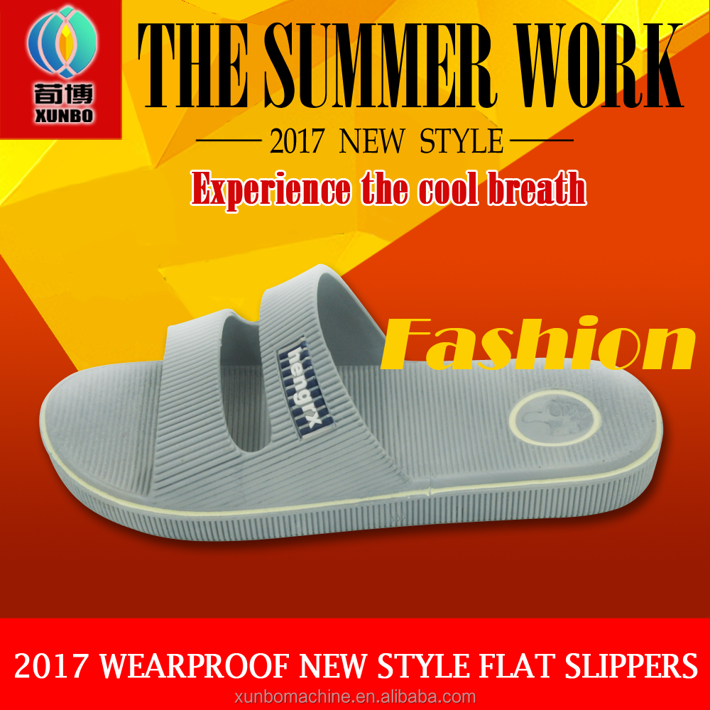 2017 man and woman slippers nice design eva slipper summer shoes accept OEM