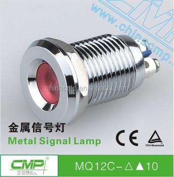 Cmp 12mm Metalen Waterdichte 12 Volt Lampjes 6 Kleuren Led ...
