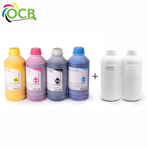 Ocbestjet T Shirt DTG Textile Pigment White No Clogging Screen Printing Inks For Direct-on-Garment