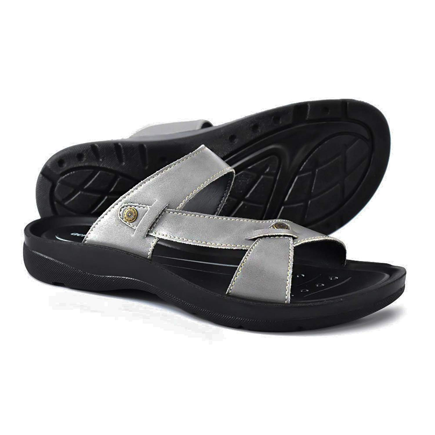 18dd4fd05cbe Get Quotations · AEROTHOTIC Orthotic Comfort Slip On Sandals and Flip Flops  with Arch Support for Comfortable Walk