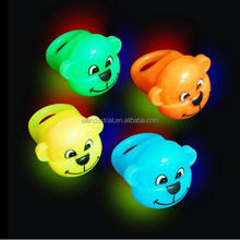Wholesale Party Favor Cool Novelty Gifts LED Jelly Bumpy Rings for Kids Birthday Party LED Glow rubber Jelly Monkey Finger Ring