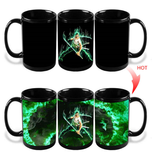11oz Magic Coffee Heat Sensitive Mug Color Changing Heat <strong>Cup</strong> ,ceramic coffee mugs