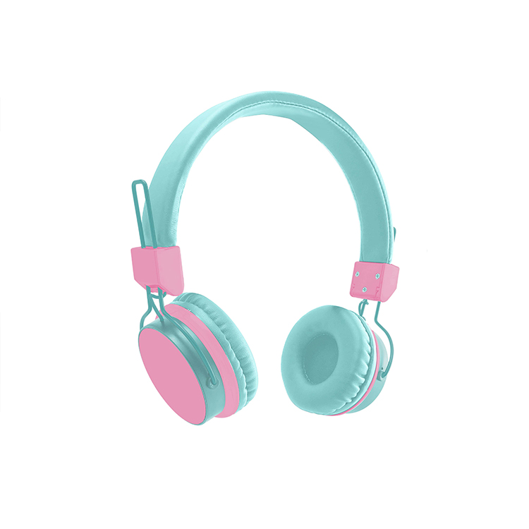Custom Gaming Wired Headset Flower Print Wired Headphones Unisex Over-Head Hi-Fi Stereo Foldable Headsets