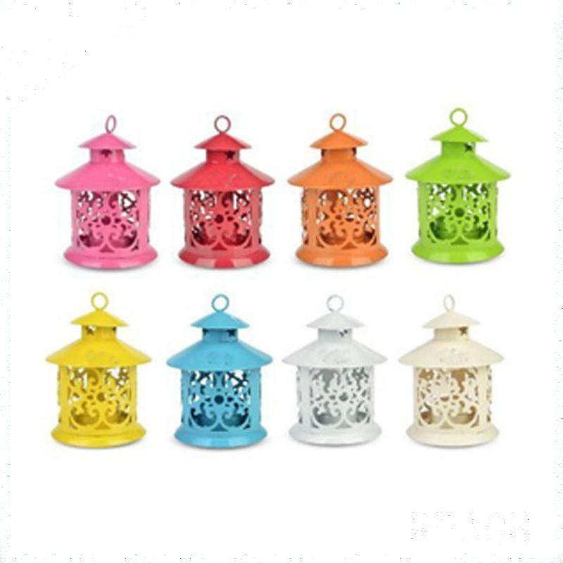 Metal Lantern Candle Holders