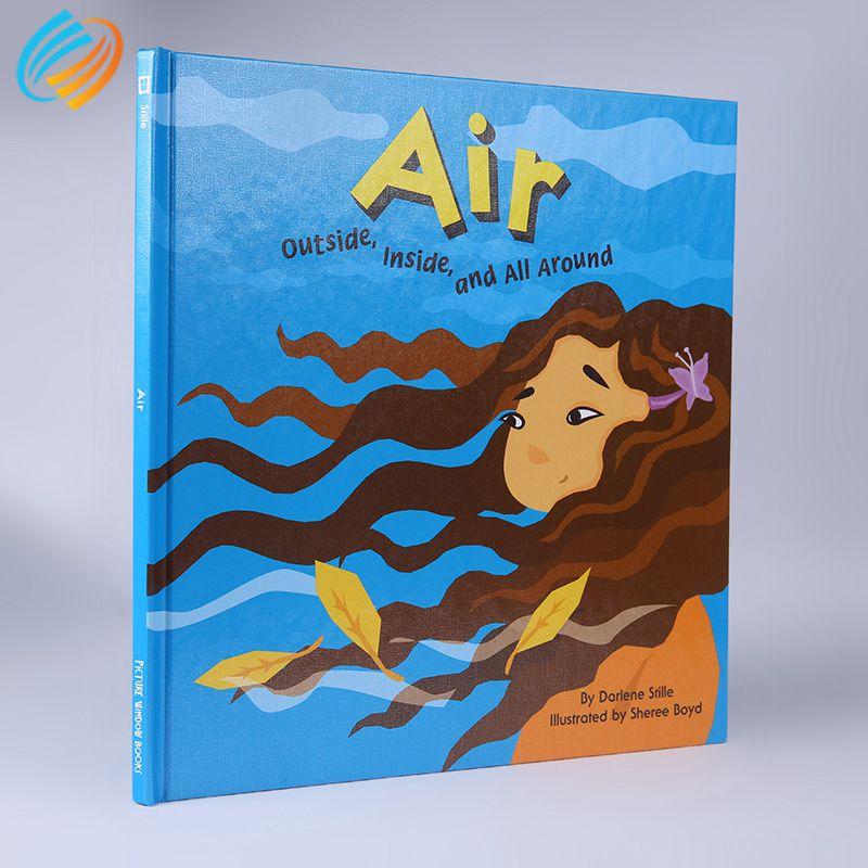 Garantia de Satisfação de 100% Crianças Personalizados Cor Imagem da História do Livro de Capa Dura Impressão