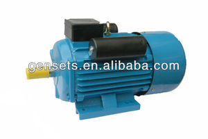 YC/YCL/YL single phase electric motors 2HP