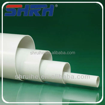 Manufacturer white grey black plastic water pvc drainage for White plastic water pipe