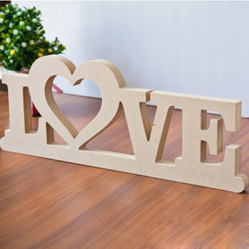 Mdf Handmade Crafts Wooden Carving Letters Alphabet For Valentine S