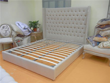 New classic bedroom furniture Bed Super Design King Bed Set With Stool