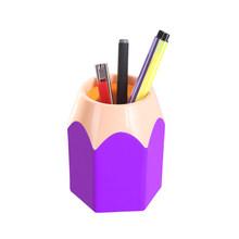Ваза для ручек коробка для карандашей держатель щеток для макияжа канцелярские принадлежности подставка контейнер карандаш держатель для ...(Китай)