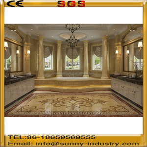 Decent beige marble hotel project