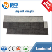 Laminated shingle-double thickness Fiberglass asphalt shingle roof tile factory