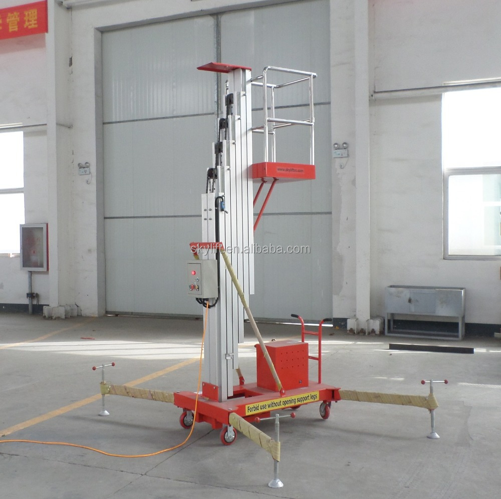 27feet Factory supply !! single man lift used aerial work platform