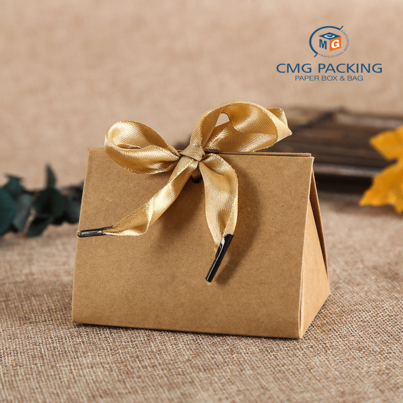 Custom Paper Box with Ribbon  Packing box wholesale